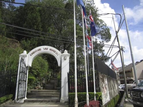 Kundusang War Memorial Garden entrance