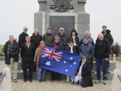 Tribute at an Australian Memorial
