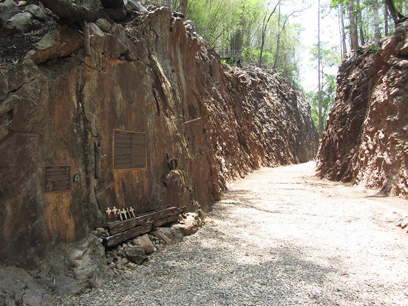 6. Hellfire Pass Museum area & restored access area