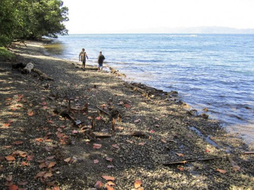 Milne Bay..Remains Japanese Landing Craft, Milne Bay (NXPowerLite)